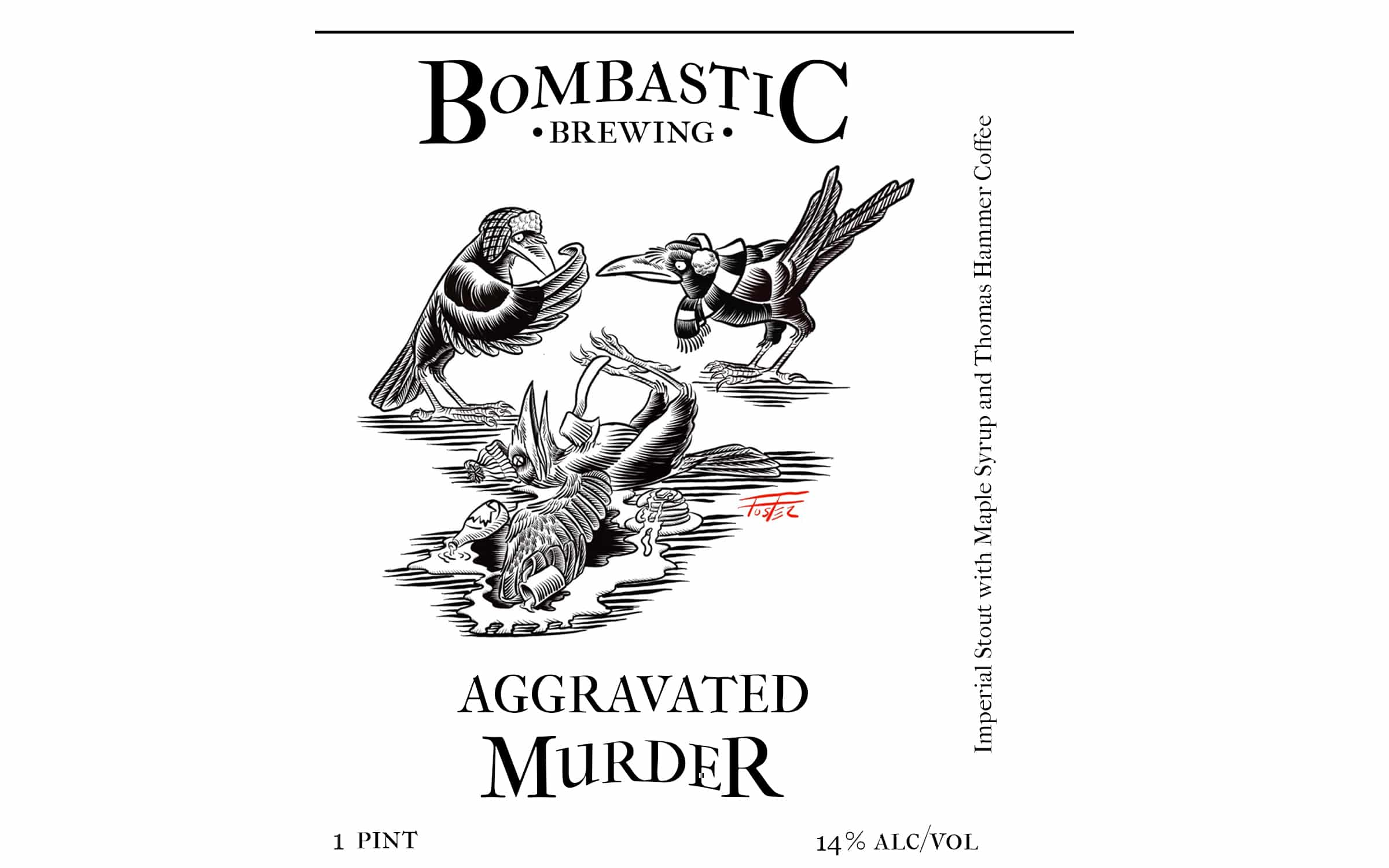 Aggravated Murder Imperial Stout