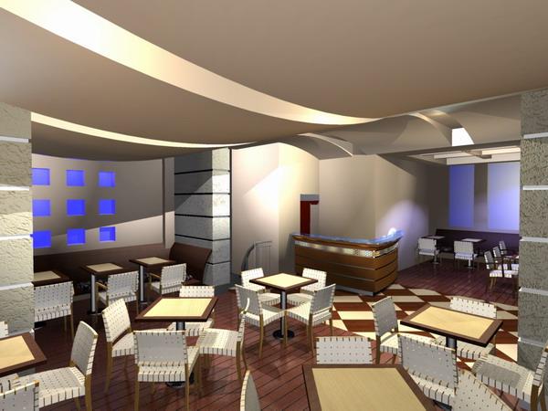 Bar Cafe Restaurant Decoration
