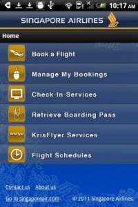 Airline Mobile App