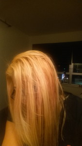 Bleached: Brassy (yellow) Before Toning
