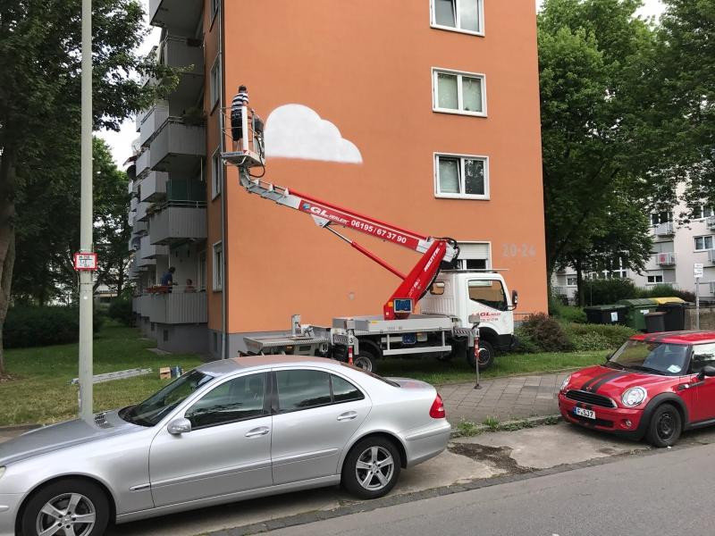Knstlerische Schildermalerei  artificial signpainting  BOMBER  studio for urban graphics