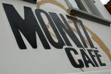 Signpainting Monti Cafe, Langen 2010
