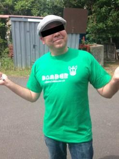 Bomber subwear Streetwear T-Shirt bottlegreen