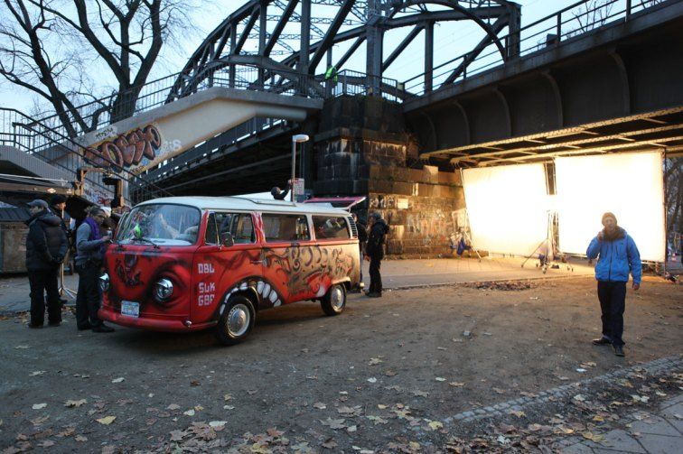 Volkswagen Bulli T2 Iron Sky Film 2010 © photo: Timo Vuorensola
