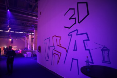 Freestyle Tape Art for Formnext fair, Mesago Frankfurt 2019