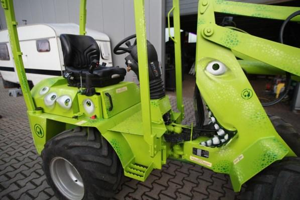 Baumpflege Jochen Stingl: Radlader/wheel loader 2020