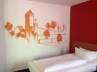 Zimmergestaltung Michel Hotel Heppenheim