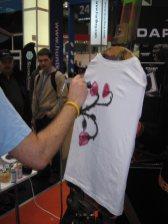 Revoltec Cebit Live Street Art Airbrush 2007