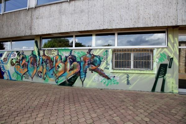 Bomber Freestyle, Gesamtschule am Gluckenstein, Bad Homburg 2016