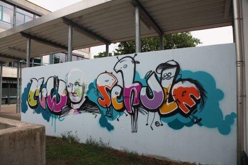 CvW-Schule 2014, Carl von Weinberg Schule, Niederrad 2014