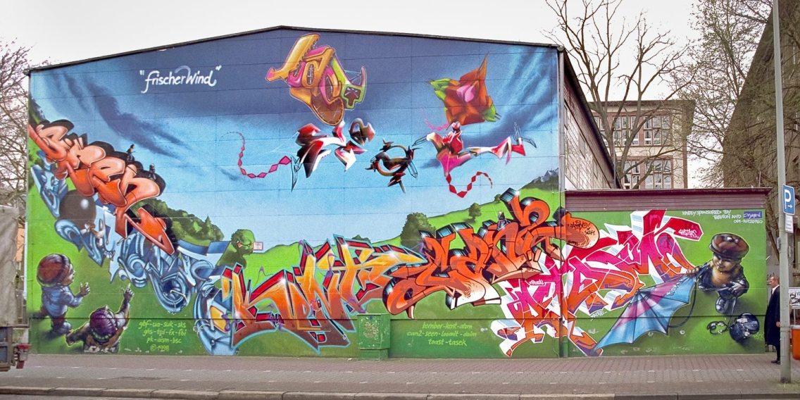 Frischer Wind Hamburger Allee Bonifatiusschule1997
