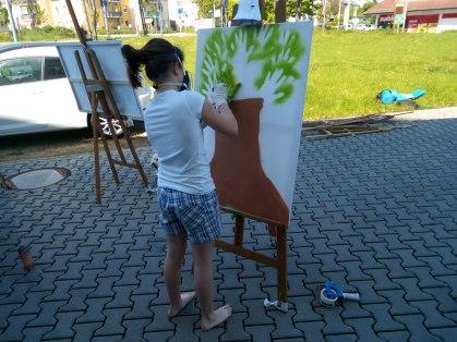 Geburtstags Graffitiworkshop