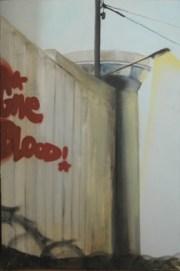 Give blood. Kooperation Natalie Goller/Bomber, Galerie Jens Fehring, 2009