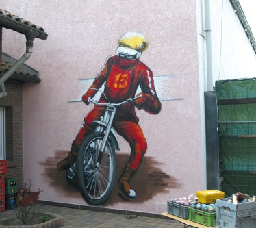 Freihand Artwork ohne Beamer o.ä. Hanau 2006