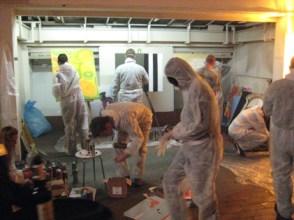 Urban Art Graffiti Workshop for Spiegel QC, 2007.