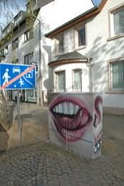 Free work on the topic of internationality for the Nassauische Heimstätten, 2011 Hattersheim.