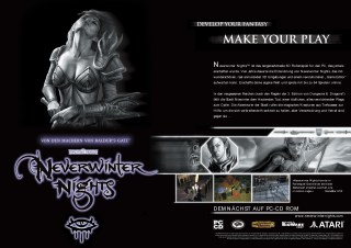 NeverWinterNights Campaign Consumer Ad 2002, for Infogrames.