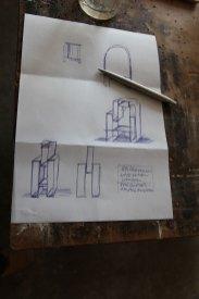 Konzeption/concept Styleschrank/Bauernschrank 3.0, Letter A, 2012