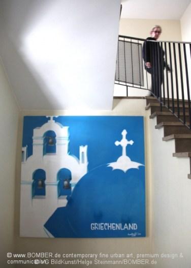Santorini Motiv, Griechische Zentrale für Fremdenverkehr, Frankfurt