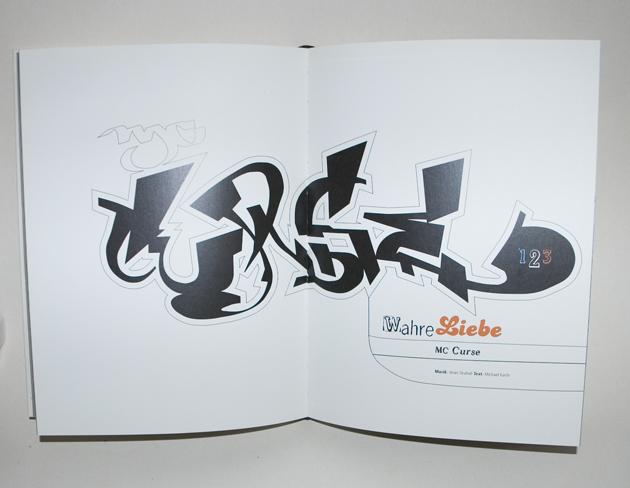 Curse Stylewriting Vektorstyle, Hip Hop XXL Buch, 2001