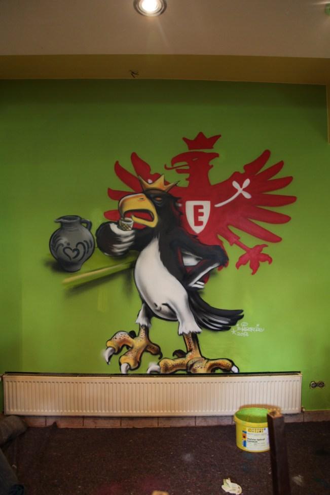 SGE Adler Bembel Eintracht Frankfurt Logo