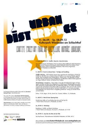 Urban Discturbance Corporate design 2012