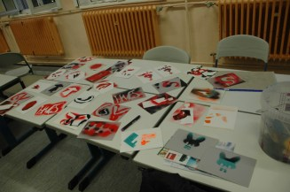 Brüder Grimm Schule Schulkünstlerprojekt 2012