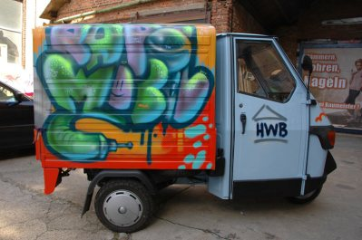 Rapmobil HWB Ape 2011