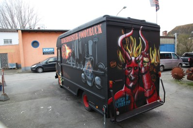 BurgerMeister Foodtruck Black fatty 2014