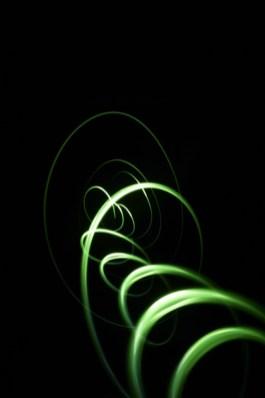 Für Aumann und Hochmuth Design erstellte Lichtmalereien für Backgrounds des Katalogs von Thomas Sabo. Foto Matthias Müller BFF, Club NuSoul in Frankfurt 2010