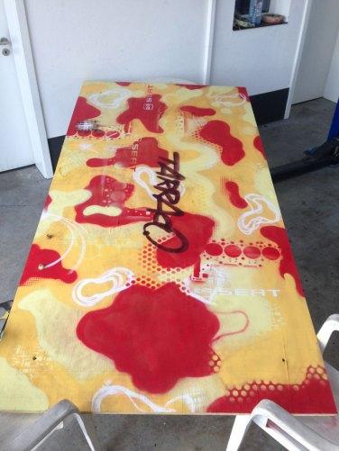 Tarraco Camouflage Tischplatte