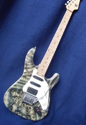 Gitarre Guitar Stefan Varga 1993
