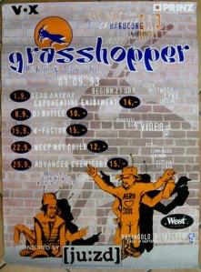 Grasshopper Jam DIN A 0 Poster (Logotype essohnesenf) 1993
