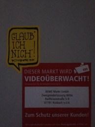 Videoüberwacht?