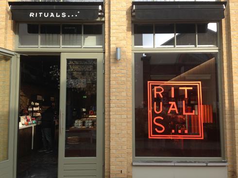 RITUALS store Ingolstadt Village Tape Art 2019