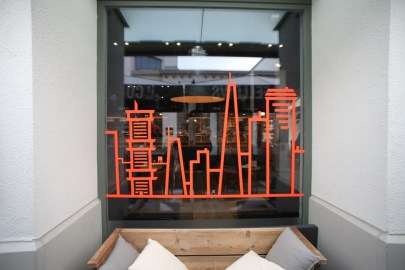 COFFEE FELLOWS NYC skyline Ingolstadt Village Tape Art 2019