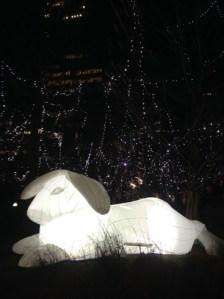White Rabbit @ Winter City Lights London 2018