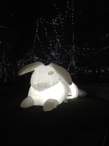 White Rabbit @ Winter City Lights London 2018