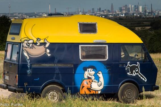Barney Geröllheimer & Fred Feuerstein/ Barney Rubble & Fred Flintstone