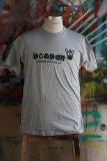 Bomber T-Shirt silvergrey