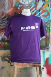 Bomber T-Shirt violett