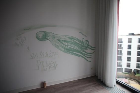 Pulpo/ No plastic please …Innside Ostend Hotel, Melia Group, Frankfurt 2018