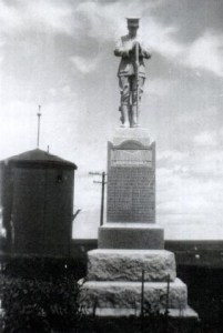 The Nanton Cenotaph