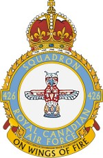 No. 426 (Thunderbird) Squadron