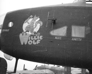Nose Art – Willie Wolf