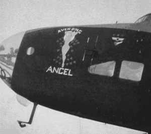 Nose Art – Avenging Angel