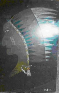 Nose Art – Indian Head
