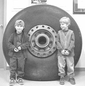 Lancaster Tire Evokes Memories of War