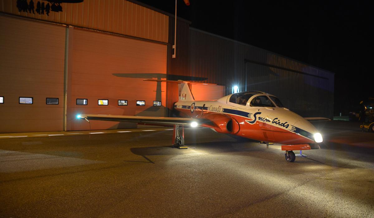 Photo of Dan Robinson's CT-114 Tutor Snowbird