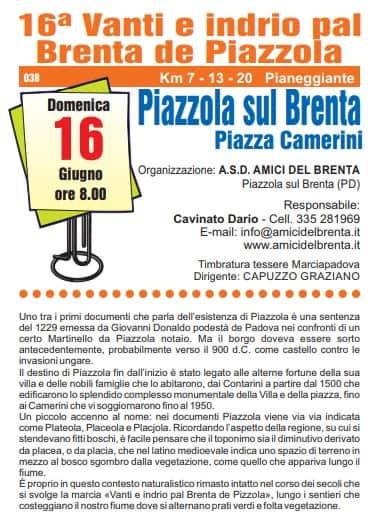 16a Vanti e indrio pal Brenta de Piazola